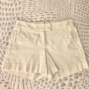 Theory white shorts